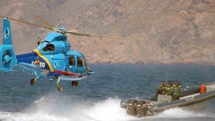Un muerto y dos heridos de Aduanas en accidente de helicóptero