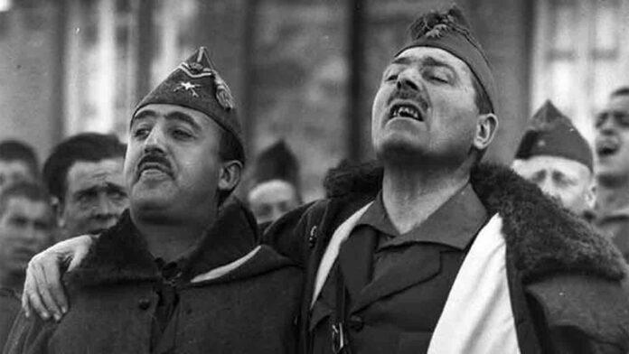 Una unidad de la legión sigue llamándose 'Bandera Comandante Franco'