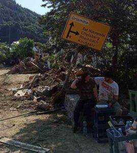 Wuppertal en Alemania: A la pandemia se suman ahora las inundaciones