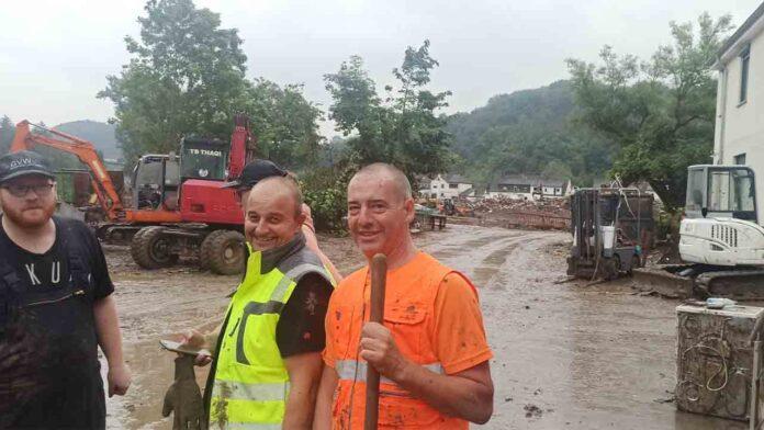 Wuppertal en Alemania A la pandemia se suman ahora las inundaciones