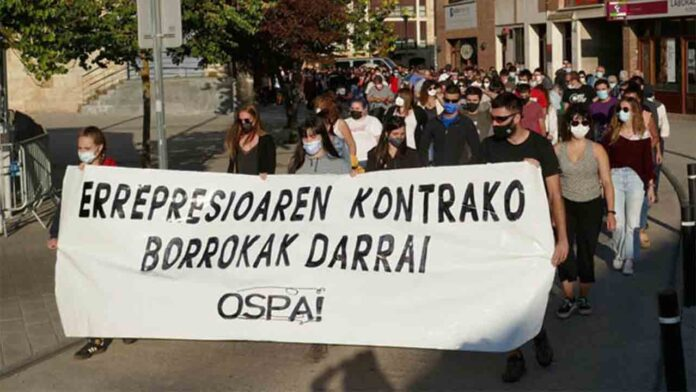 10ª Ospa Eguna: Que las 'fuerzas represivas' abandonen el País Vasco