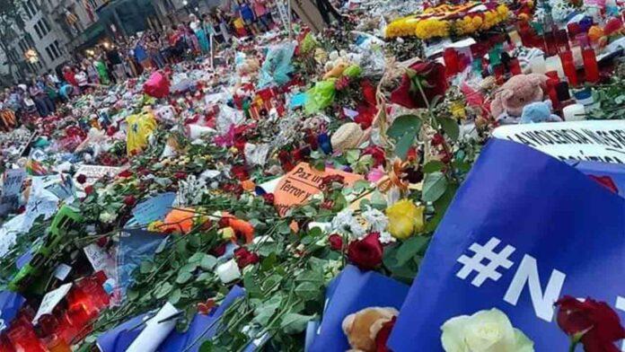 17A: Homenaje a las víctimas de la Rambla de Barcelona