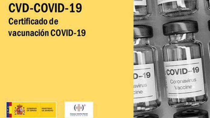 18 millones de Certificados COVID Digital de la UE emitidos en España