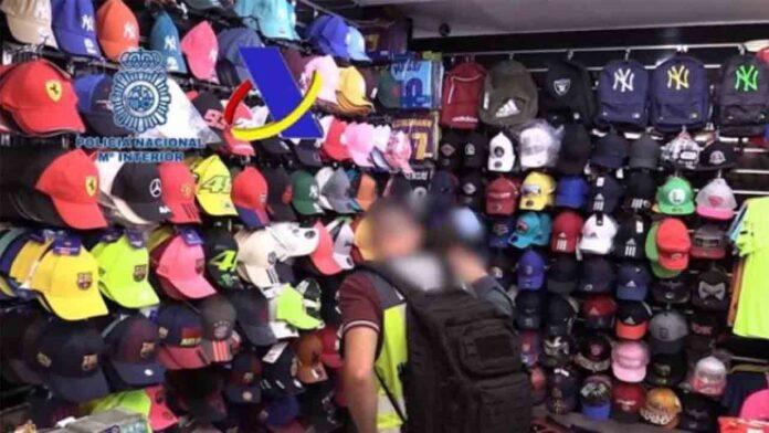42 detenidos en una operación contra los productos falsificados