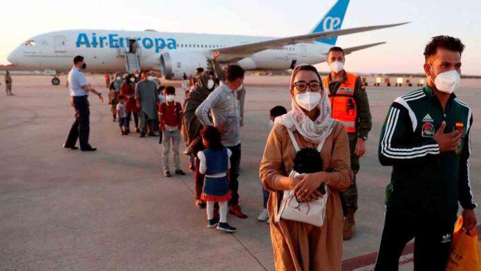 Aterriza en Torrejón el segundo avión con 110 afganos evacuados