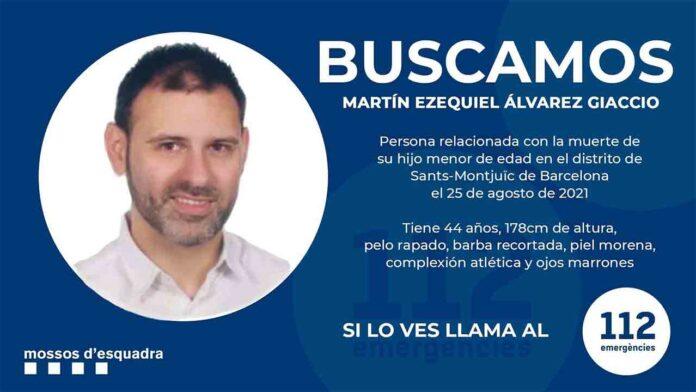 Buscan a un hombre por el asesinato de su hijo de 2 años en un hotel de Barcelona
