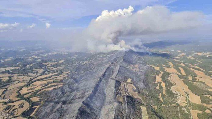 Catalunya activa el Plan Alfa por peligro de incendios en 39 municipios