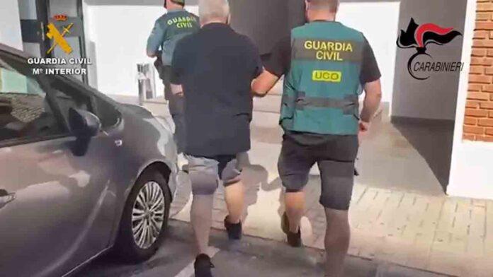 Detenido en Málaga un integrante de la mafia de la NDrangheta