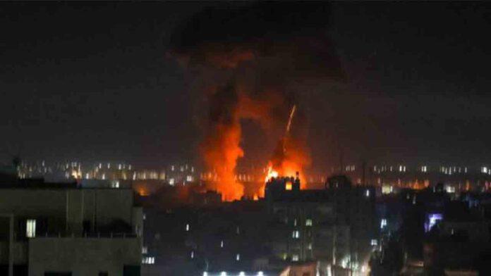 Israel vuelve a lanzar ataques aéreos sobre Gaza