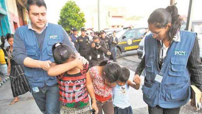 La Interpol rescata a ocho menores explotados sexualmente en Guatemala