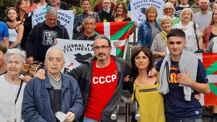 Liberado el preso vasco Agustín Almaraz
