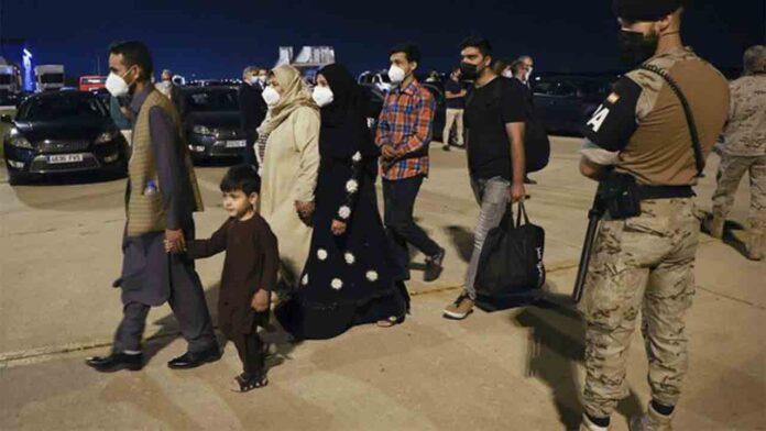 Madrid, puerta de entrada a Europa para los afganos que colaboraron con la UE