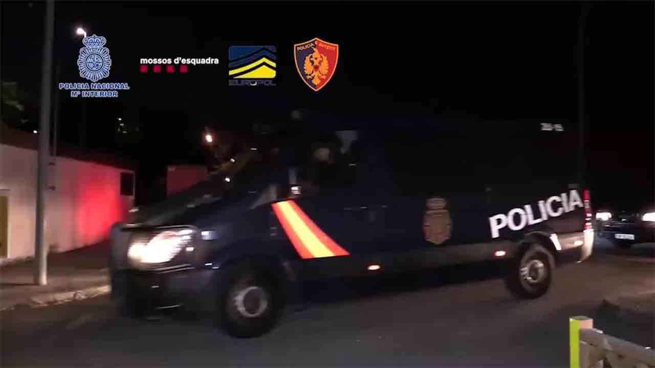 107 detenidos de una organización albanesa dedicada al tráfico de marihuana