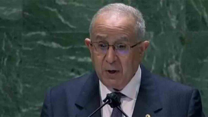 Argelia pide conversaciones entre Marruecos y el Frente Polisario