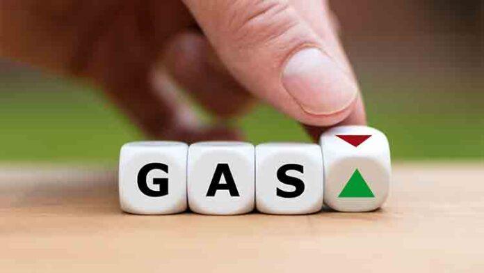 Escalada del precio del gas
