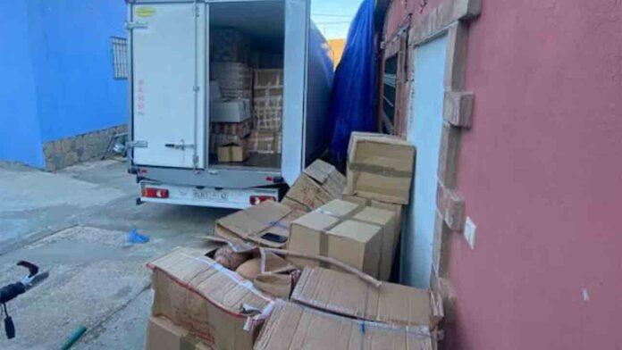Intervienen ocho toneladas de hachís en una vivienda de Algeciras