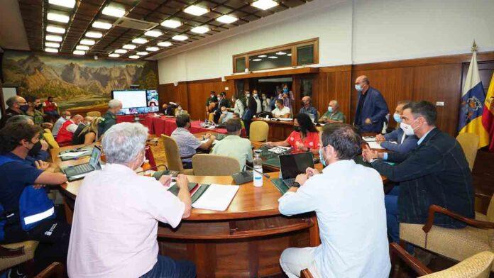 Los planes de evacuación del PEVOLCA evitan daños personales en la erupción volcánica de La Palma