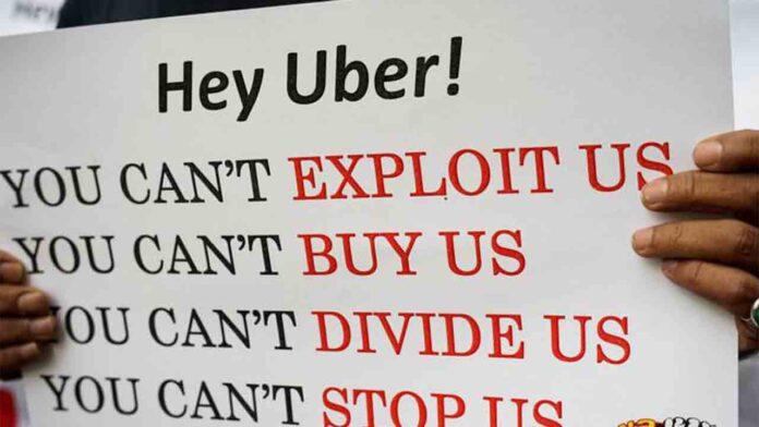 Cómo la distópica Uber extiende su explotación laboral