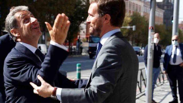 El PP invita al recién condenado Sarkozy a su convención