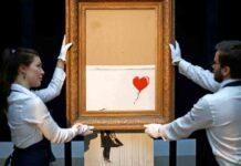 La obra de Banksy, Love is in the Bin, vendida por 21 millones