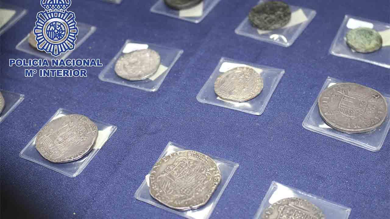 Roban monedas del Imperio Romano valoradas en más de 120.000 euros